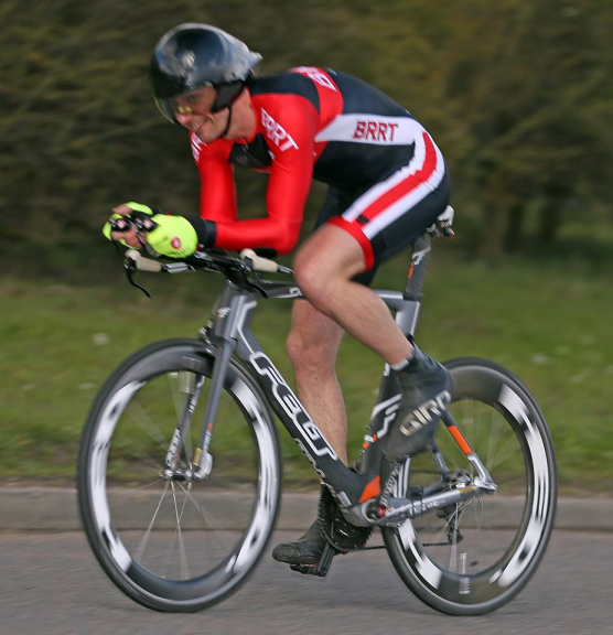 Cycling time trial in Bedfordshire