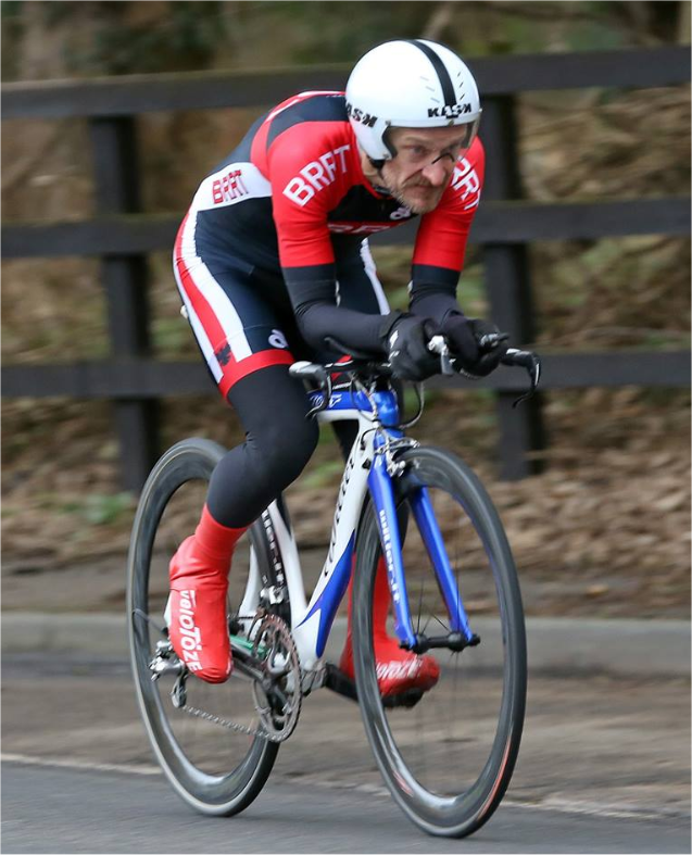 Cycling time trials in Bedfordshire - Jon Friend